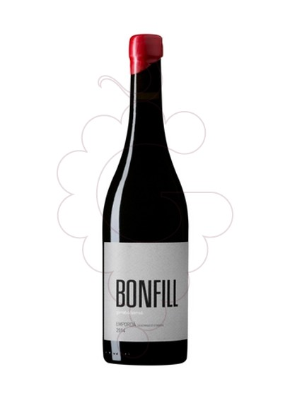 Photo Bonfill red wine