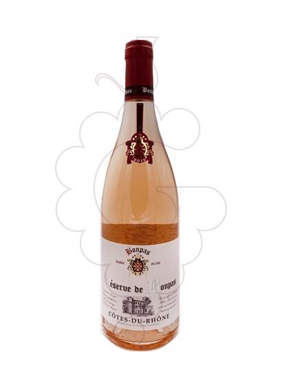 Photo Rosé Bonpas Côtes du Rhône rosé wine