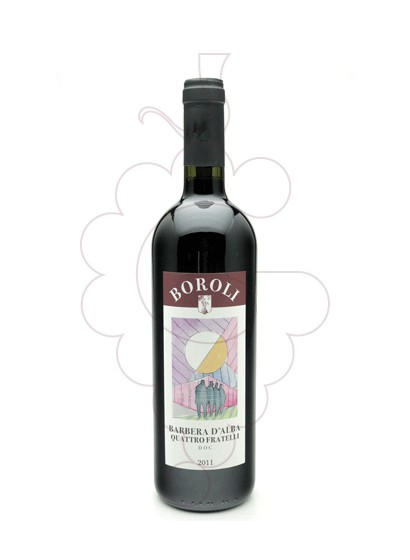 Photo Boroli Quattro Fratelli Barbera d'Alba red wine