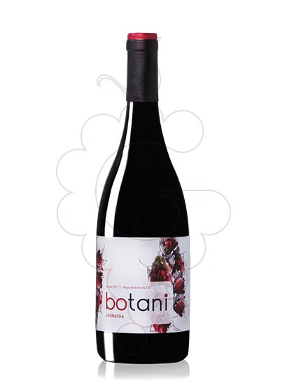 Photo Botani Negre Garnatxa red wine