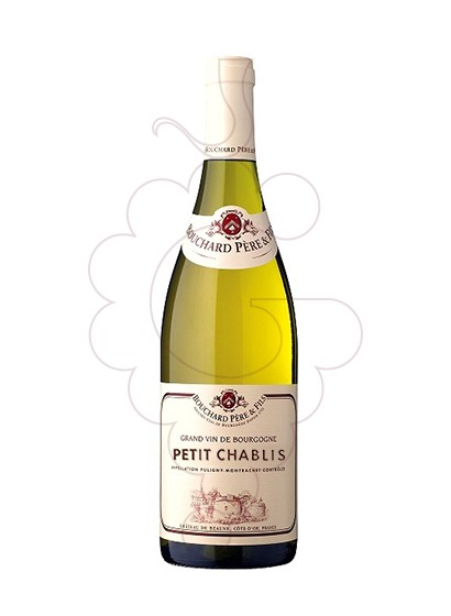 Photo Bouchard Petit Chablis  white wine