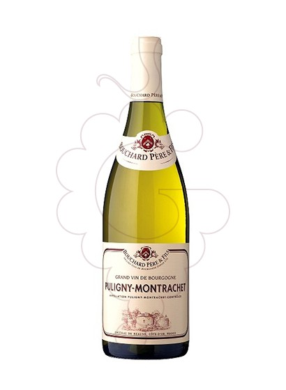 Photo Bouchard Puligny-Montrachet white wine