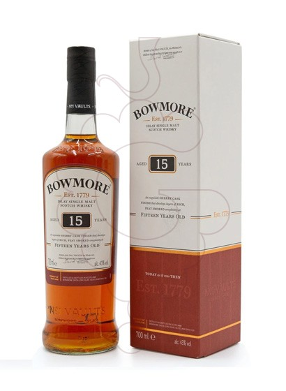 Photo Whisky Bowmore Darkest 15 Years