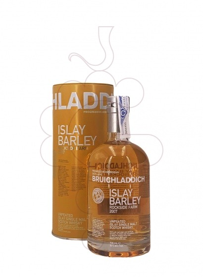 Photo Whisky Bruichladdich Islay Barley Rockside Farm 2007