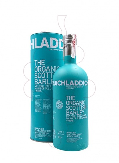 Photo Whisky Bruichladdich The Organic Scottish Barley