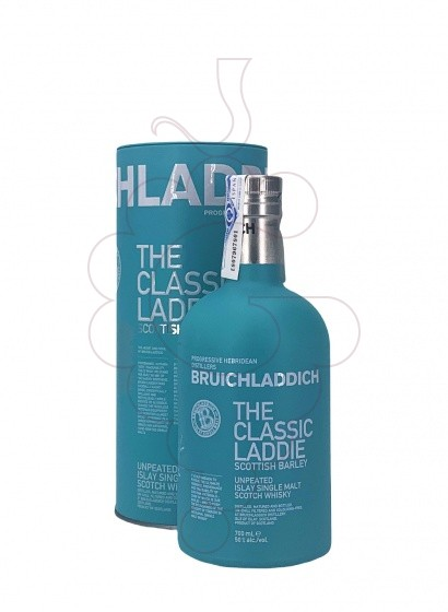 Photo Whisky Bruichladdich Scottish Barley The Classic Laddie
