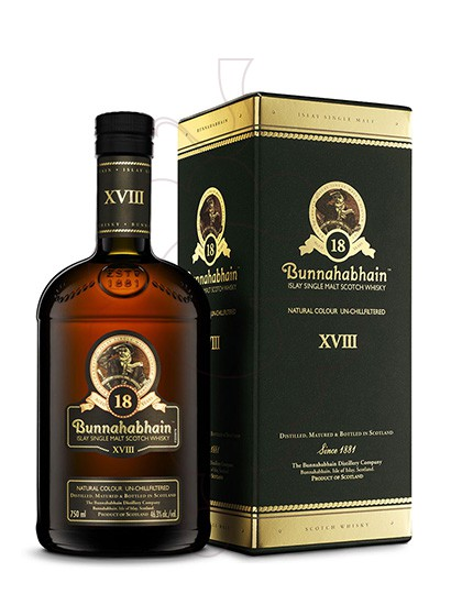 Photo Whisky Bunnahabhain 18 Years