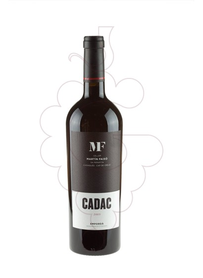 Photo Cadac Negre red wine