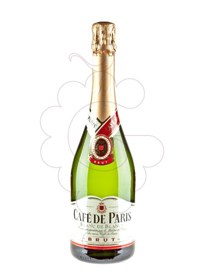 Photo Cafe de Paris Brut sparkling wine