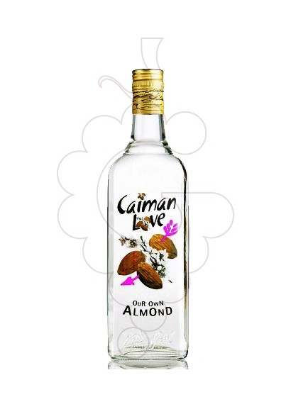Photo Liqueur Caiman Love Almendra