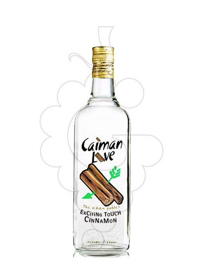 Photo Liqueur Caiman Love Canela