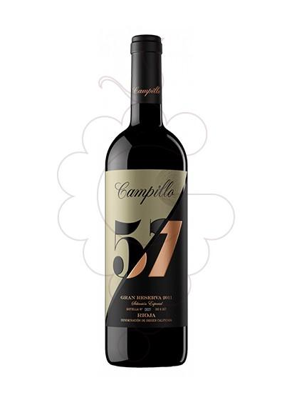 Photo Campillo 57 Gran Reserva red wine