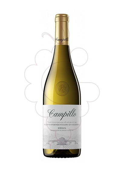 Photo Campillo Blanc Fermentat Barrica white wine