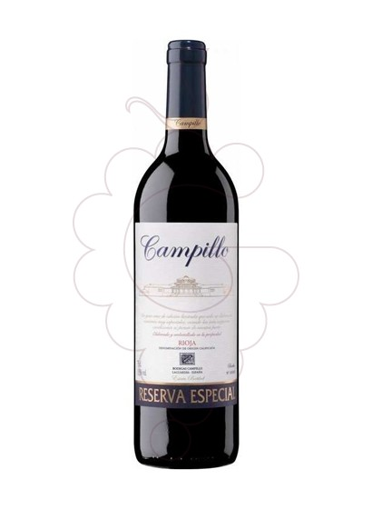 Photo Campillo Reserva Especial red wine