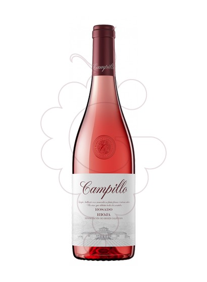 Photo Campillo Rosat rosé wine