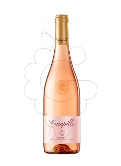 Photo Campillo rose 75 cl rosé wine