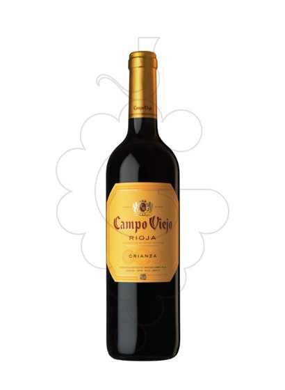 Photo Campo Viejo Crianza red wine
