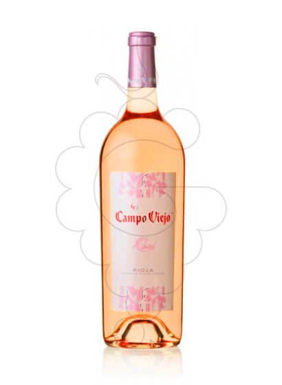 Photo Campo Viejo Rose Magnum rosé wine