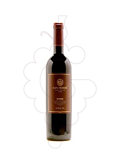 Photo Can Feixes Negre Cabernet Tempranillo red wine