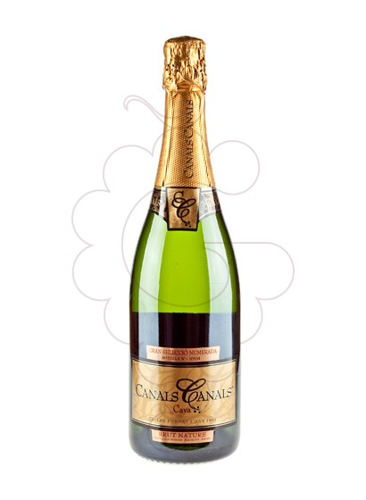 Photo Canals Canals Brut Nature sparkling wine