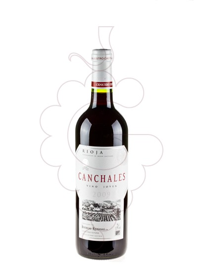 Photo Canchales red wine