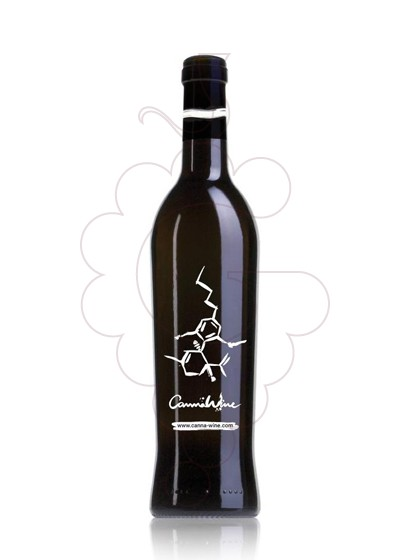 Photo Red Cannawine fortified wine