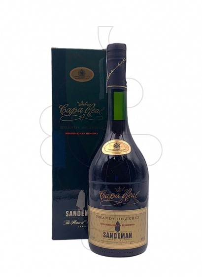 Photo Brandy Capa Real Solera Gran Reserva
