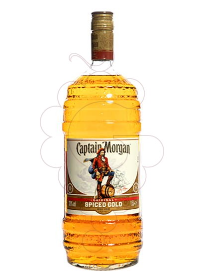 Photo Rum Captain Morgan Spiced Barrel Bottle