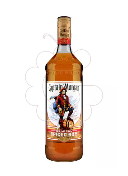 Photo Rum Captain Morgan Spiced Gold