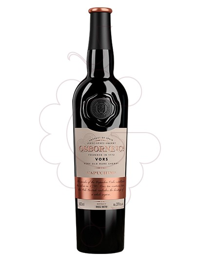 Photo Capuchino Palo Cortado VORS fortified wine