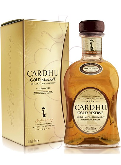 Photo Whisky Cardhu Gold Reserve