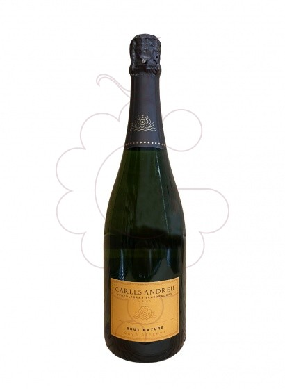 Photo Carles Andreu Brut Nature sparkling wine