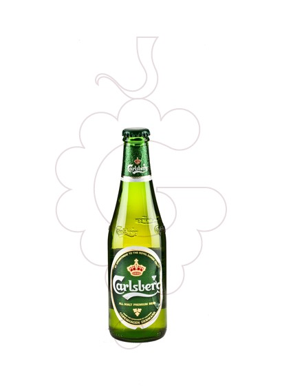 Photo Beer Carlsberg Beer ampolla