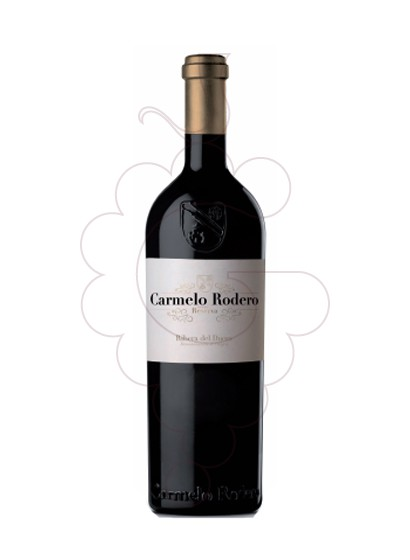 Photo Carmelo Rodero Reserva red wine