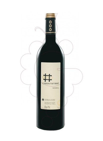 Photo Carramimbre Reserva red wine
