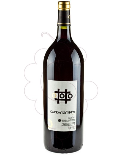 Photo Carramimbre Roble Magnum red wine