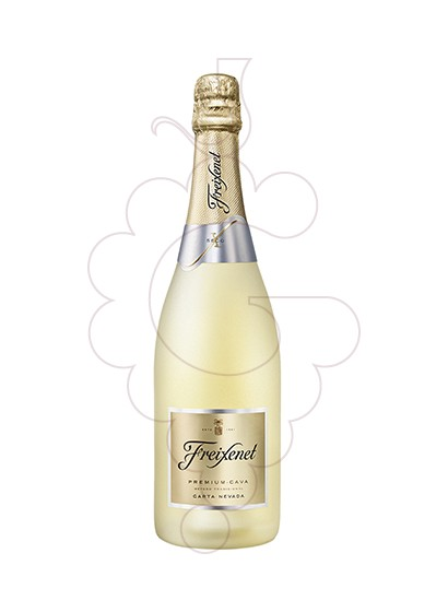 Photo Carta Nevada Sec sparkling wine