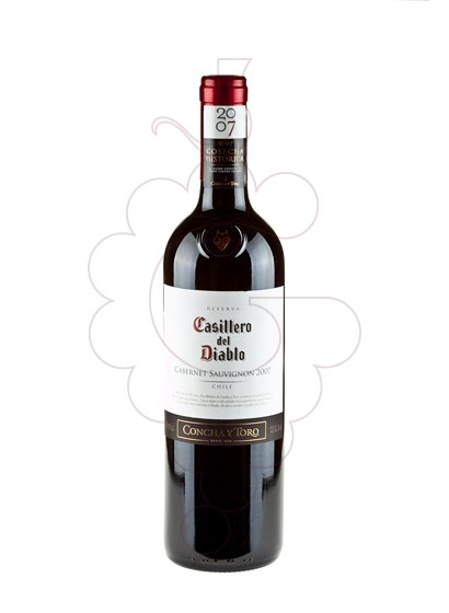 Photo Casillero del Diablo Cabernet red wine