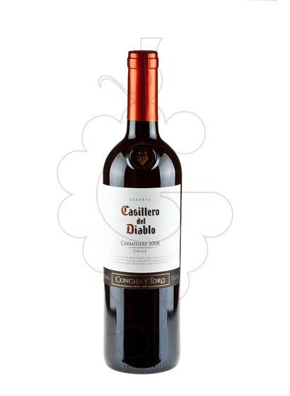 Photo Casillero del Diablo Carmenere red wine
