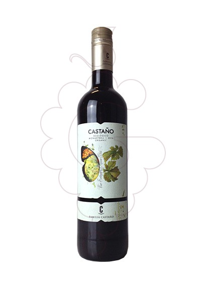 Photo Castaño Monastrell Biologic red wine
