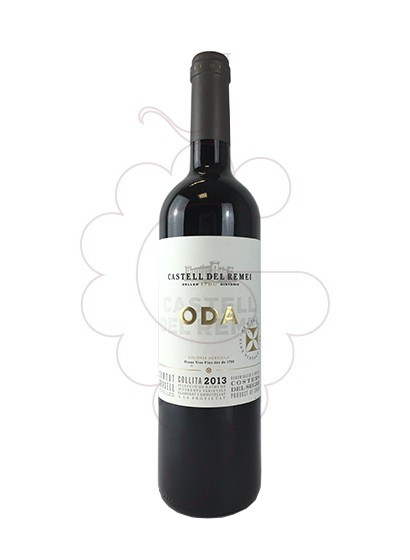 Photo Castell del Remei Oda Negre red wine