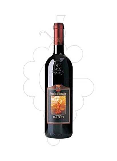 Photo Castello Banfi Brunello di Montalcino red wine