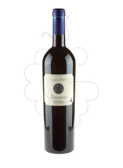 Photo Castello di Poppiano Tricorno red wine