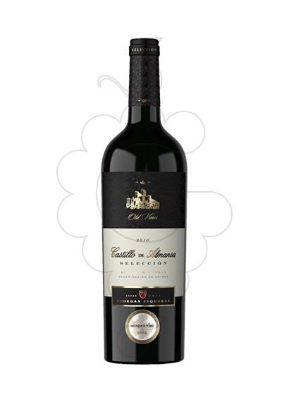 Photo Castillo de Almansa Crianza red wine
