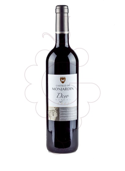 Photo Castillo de Monjardin Deyo Merlot red wine