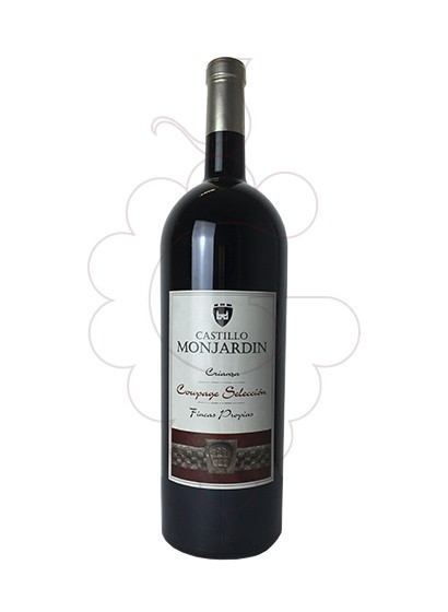 Photo Castillo Monjardin Crianza Magnum red wine