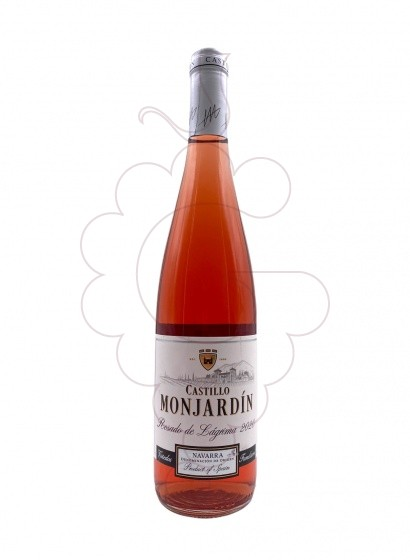 Photo Castillo Monjardin Rosat rosé wine