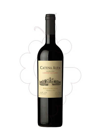 Photo Catena Alta Cabernet Sauvignon red wine