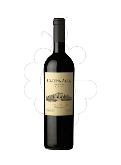 Photo Catena Alta Malbec  red wine