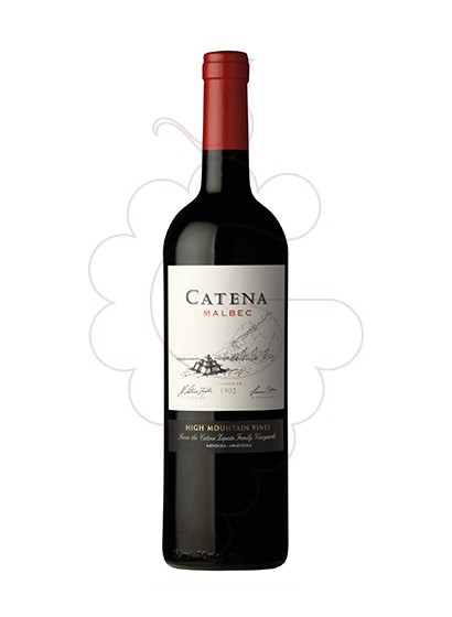 Photo Catena Malbec  red wine